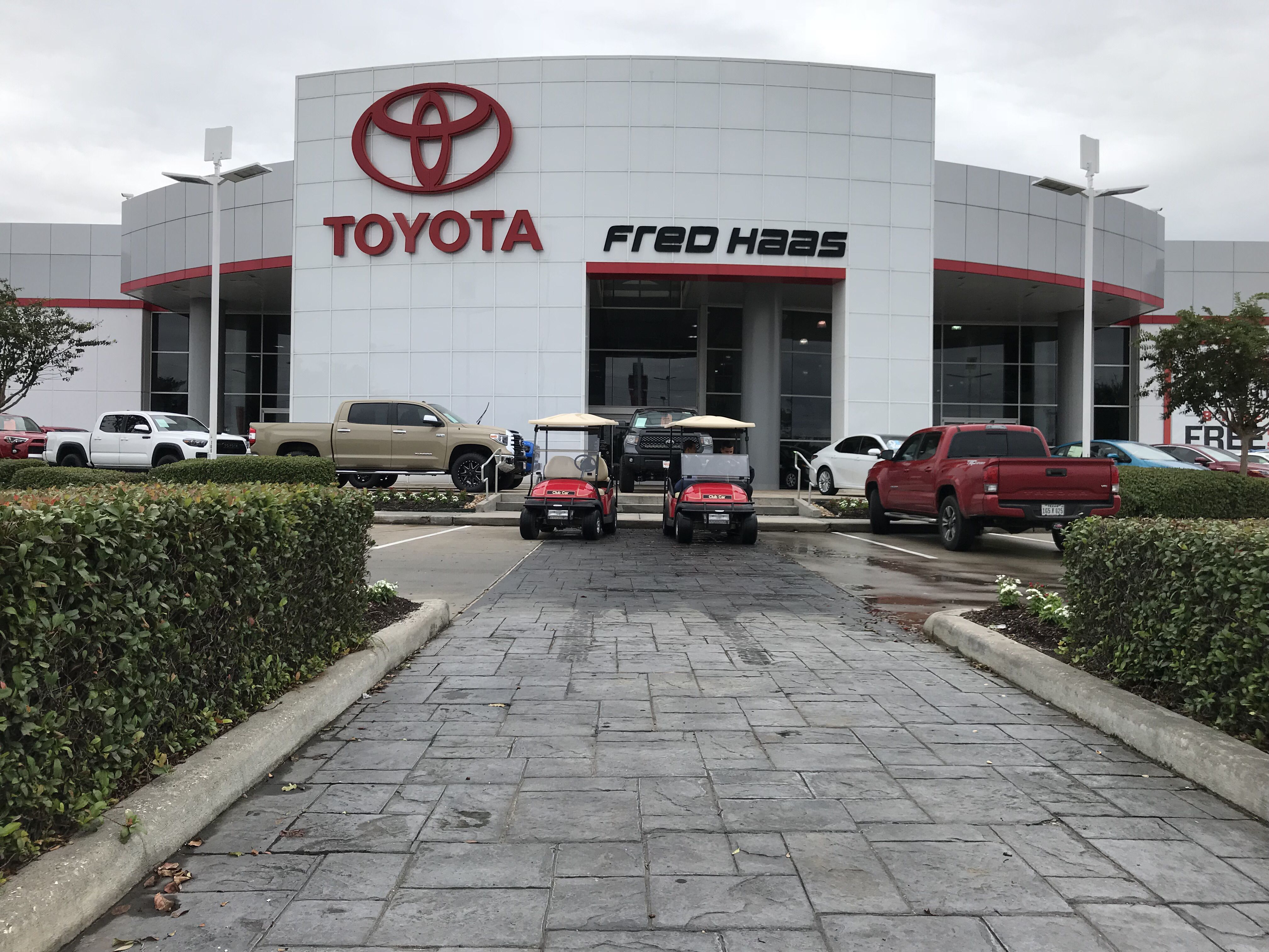 Fred Haas Toyota World In Houston Tx Toyota Photo Car Dealer