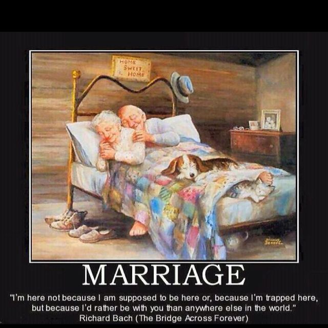 This reminds me of my Mawmaw and Pawpaw! 68 years of marriage and only death parted them.