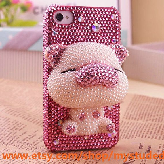 Cute pig iphone case. Love it, but this might be too much even for me!