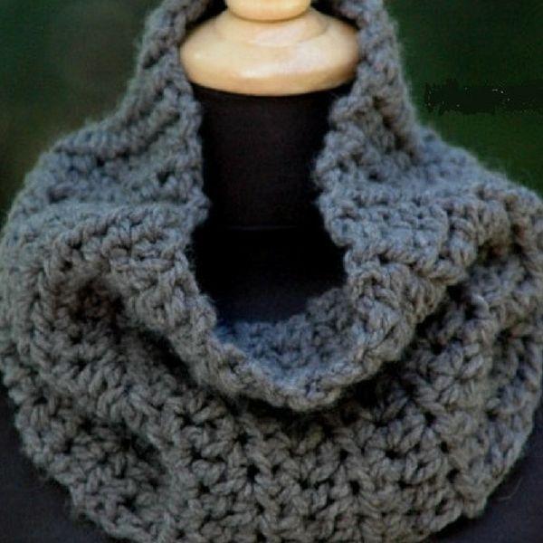 Free Crochet Cowl Pattern | Crochet | Pinterest