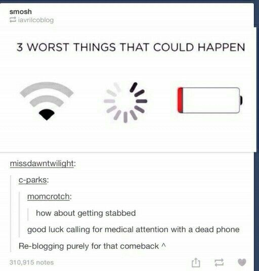 Worst things that could happen
