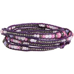 Chan Luu Graduated Mix Stone Wrap Bracelet $175