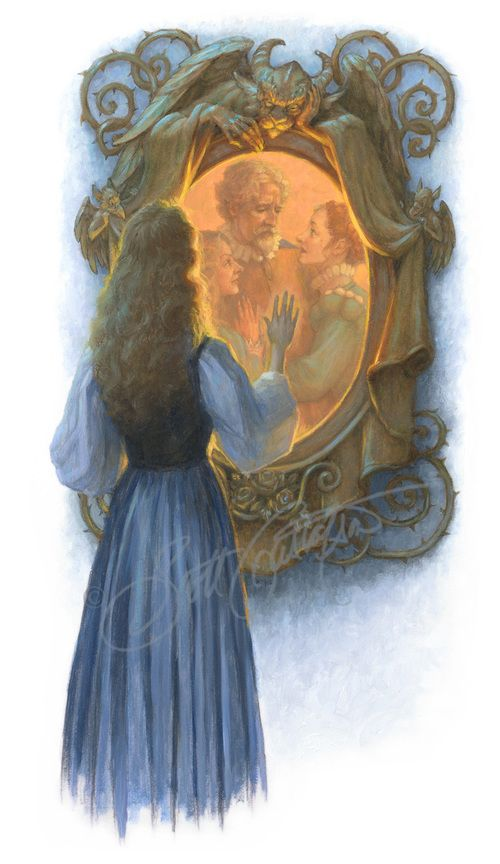 """Beauty and the Beast"" - Ill. Scott Gustafson"