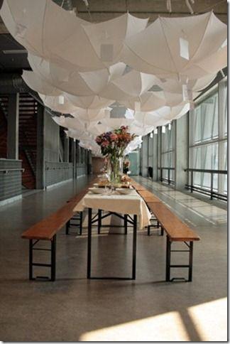 Con techo de paraguas BODA Pinterest Paraguas, Casamiento y