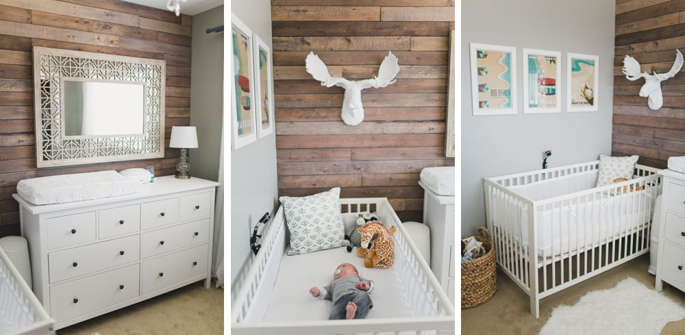 Baby nursery ikea hemnes dresser pallet wall ikea gulliver crib adrian pinterest - Kinderzimmermobel baby ...