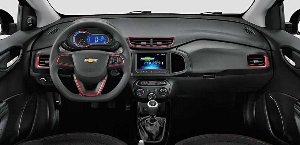No Interior Do Onix Effect Os Detalhes Do Painel Dual Cockpit