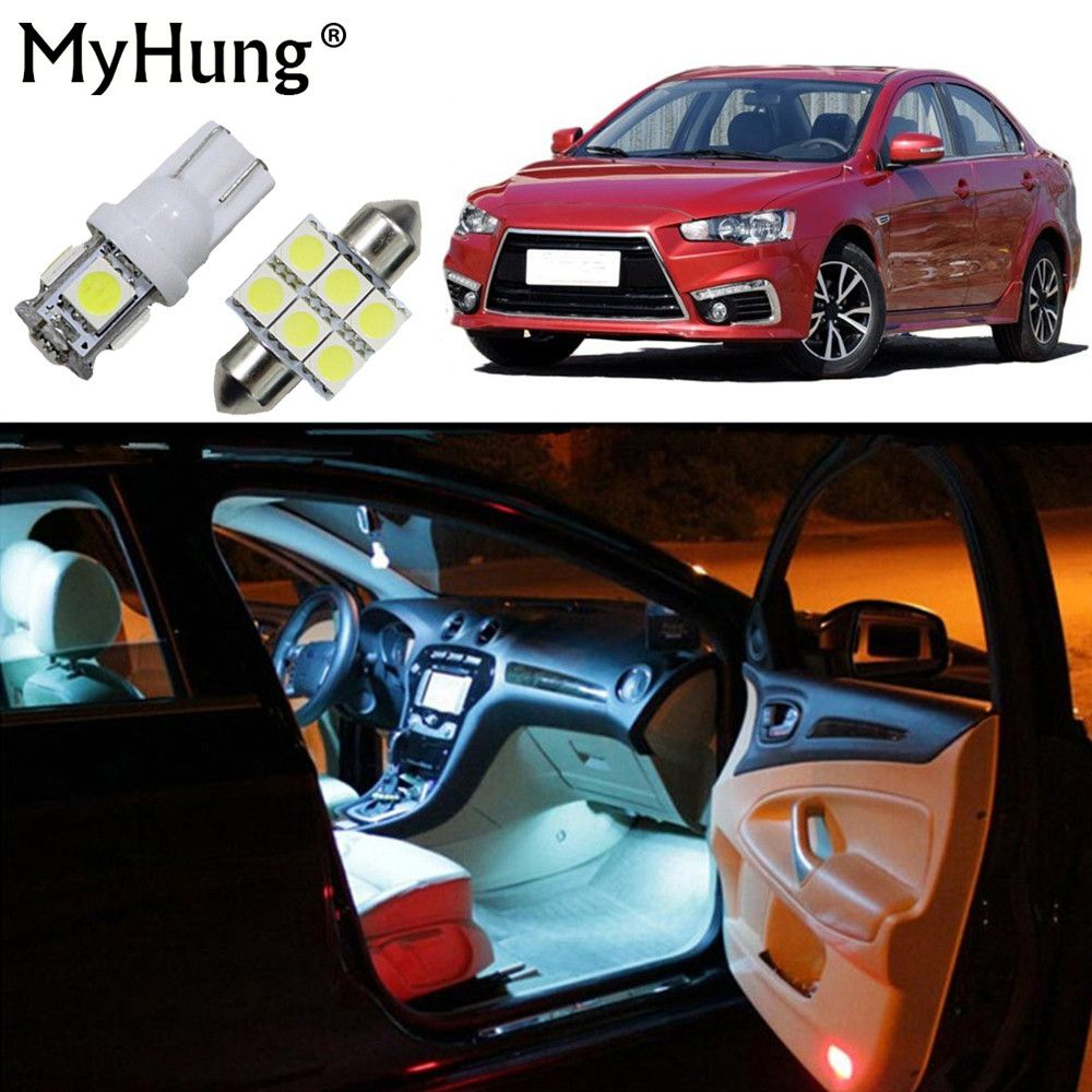 For Mitsubishi Asx Lioncel Outlander Pajero Lancer Ex Car Led Interior Light Replacement Bulbs Do Car Led Lights Interior Led Lights Headlight Bulb Replacement