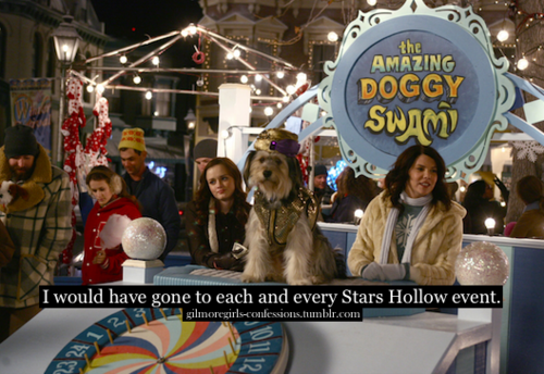 Gilmore Girls Confessions - and I would have loved it