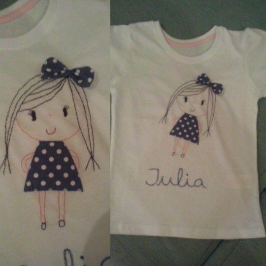 Camiseta niña, Julia