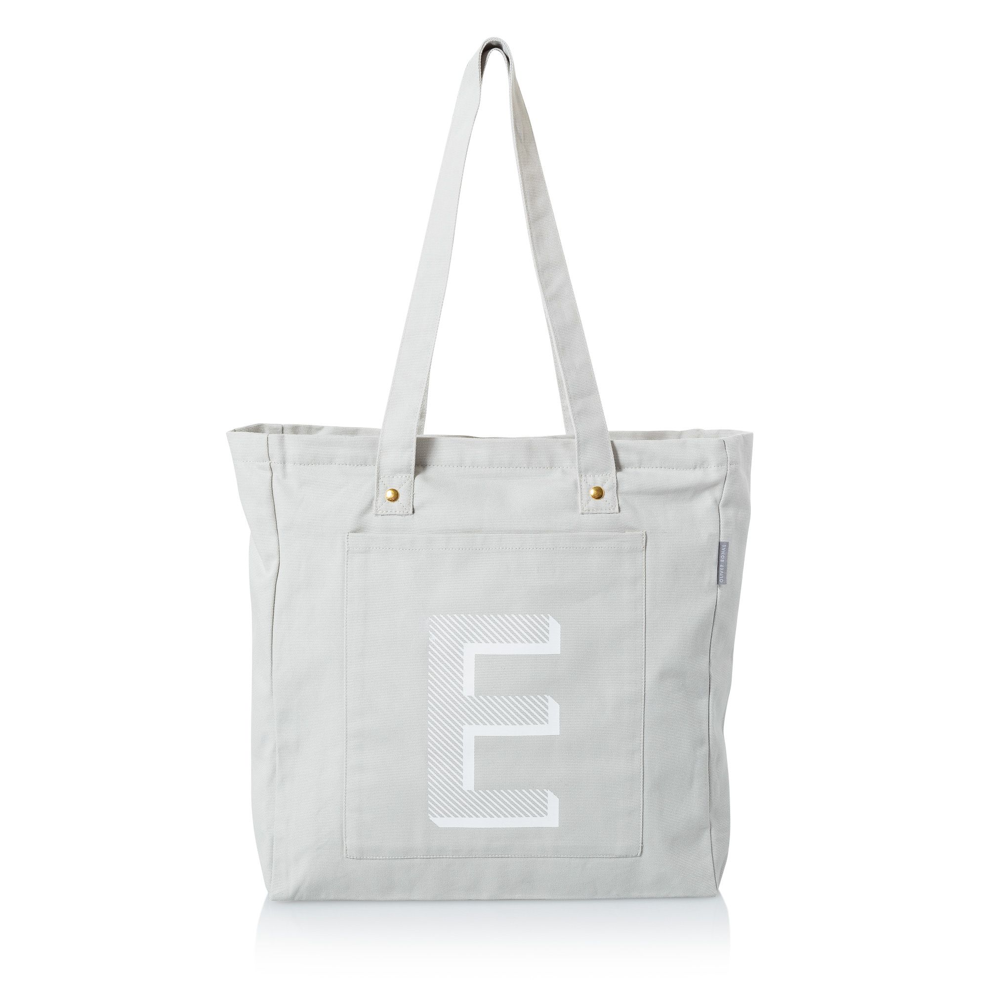49395fe5a Buy the Alphabet Shopper Bag at Oliver Bonas. Personalise your Bags. Enjoy  free worldwide standard delivery for orders over £50.