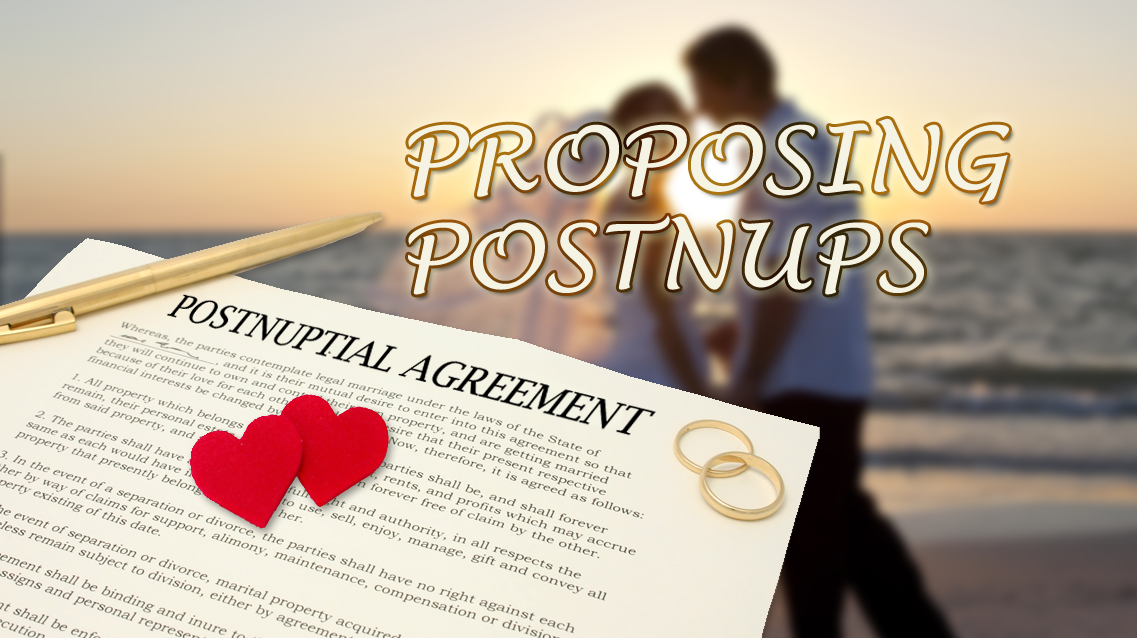 Weve All Heard Of Pre Nuptial Agreements But The Latest Contract