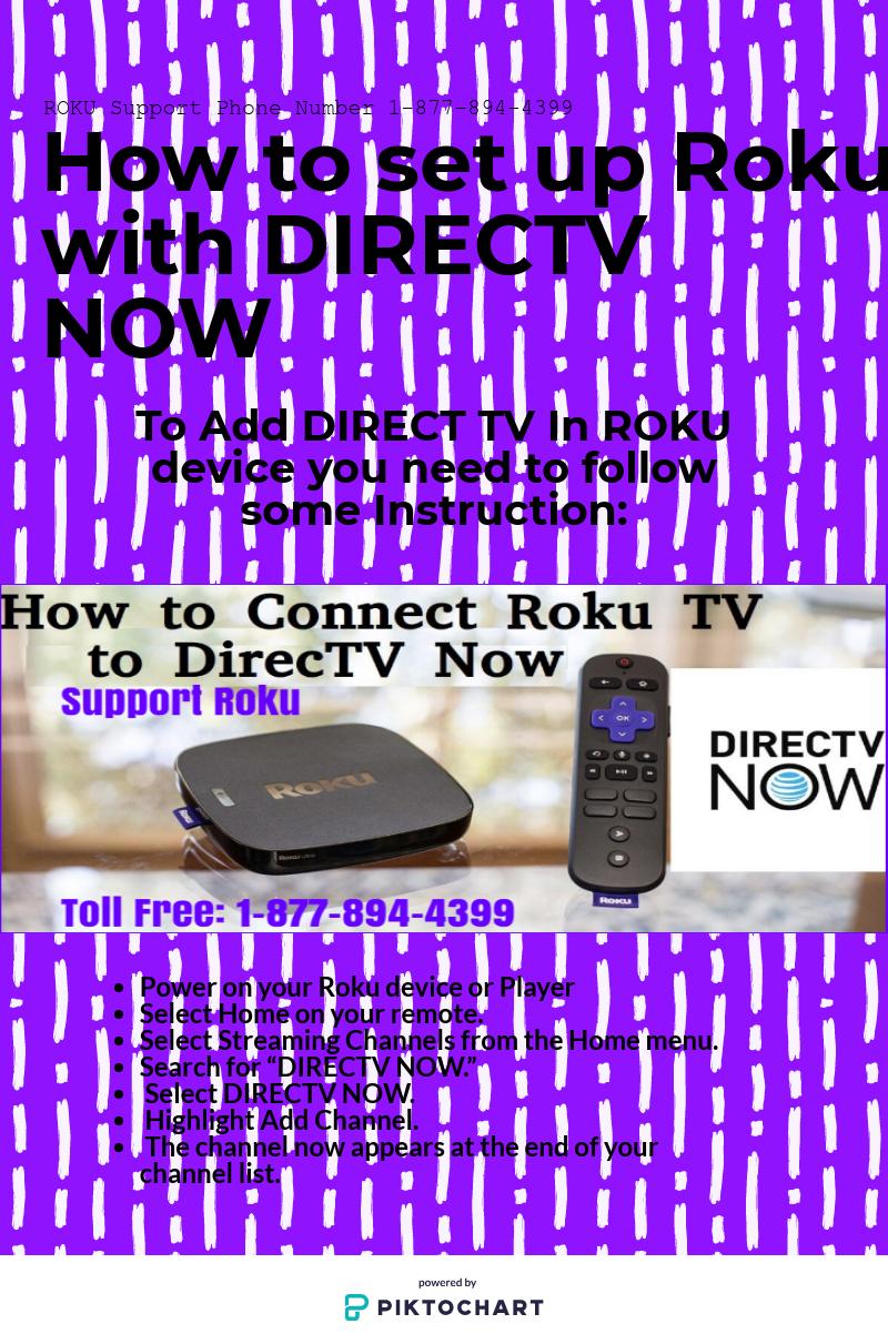 Roku Helpline To Add Apps In Roku Device Add Directv Now In Roku 1 On 1 Consultation With Roku Technician 1 877 894 4399 Roku Directv Phone Numbers