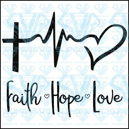 Download Collections - SuperSvg in 2020 | Faith in love, Svg, Svg ...