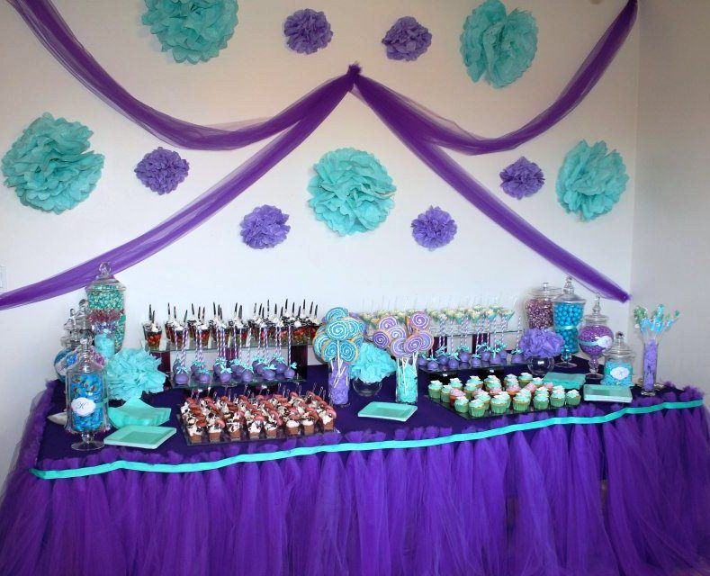 Purple And Teal Party Pinterest Teal Babies And