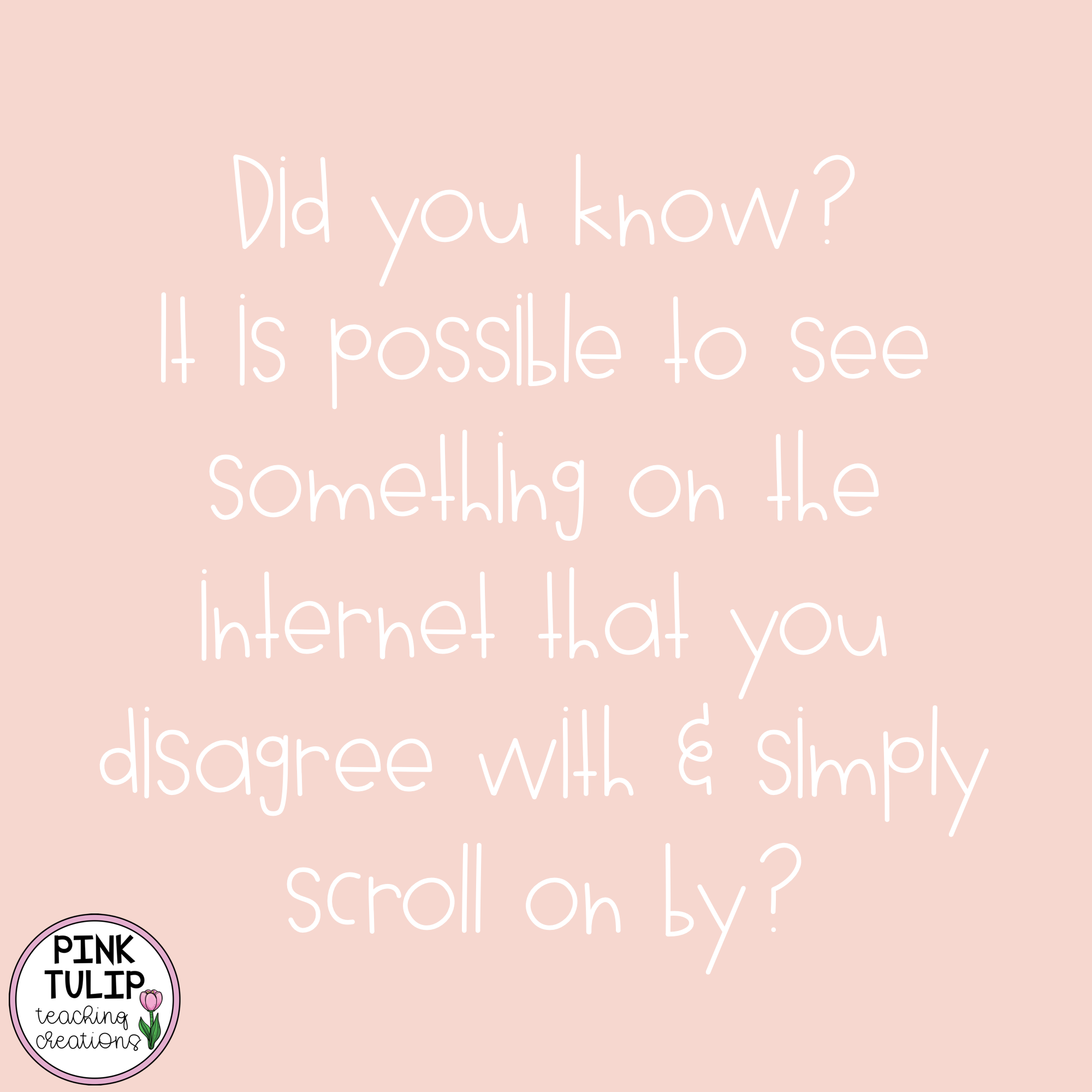 Did You Know It Is Possible To See Something On The