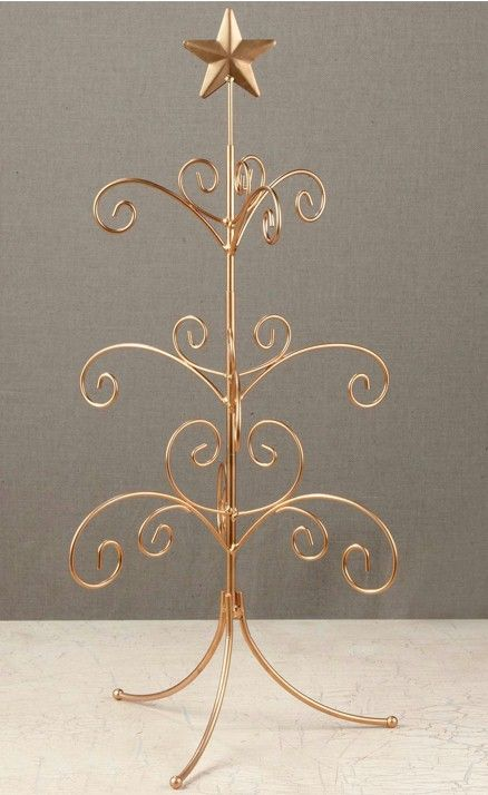 ornament trees regent display tree 22the perfect small christmas tree - Metal Christmas Decorations