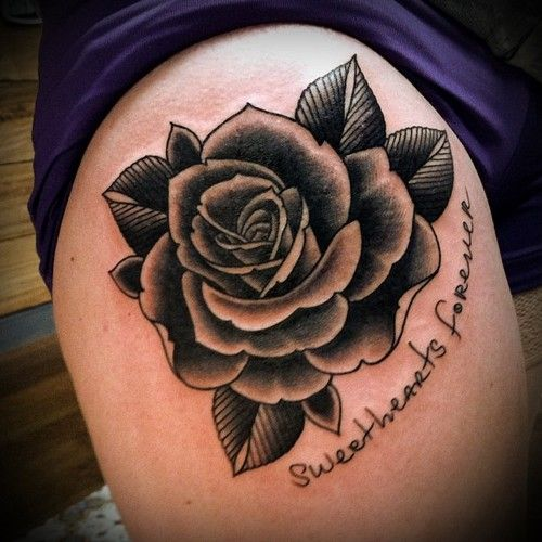 Rose Tattoos With Words Google Search: Tim Hendricks Rose Tattoo - Google Search