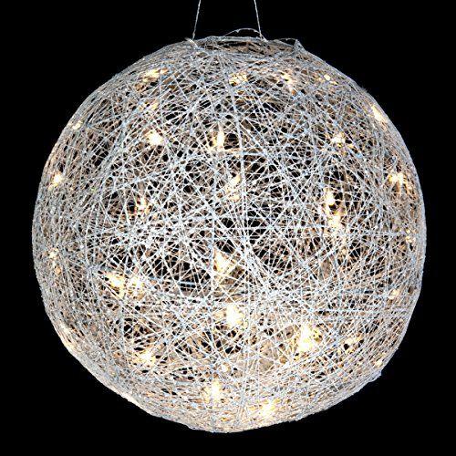 Lumineo 480806 LED Leuchtkugel mit 36 LED`s Draht Kugel ...