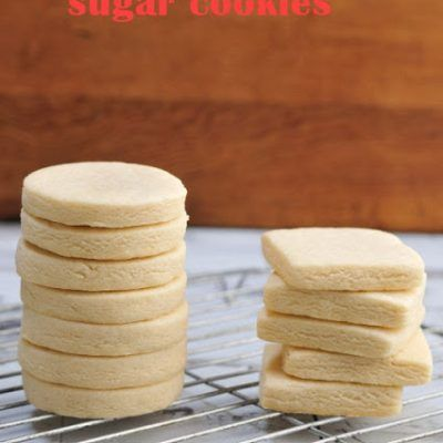 Cut Out Sugar Cookie #sugarcookierecipe