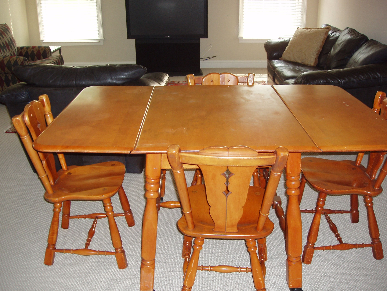 Vintage Maple Dining Room Furniture  Httpfmufpi Unique Maple Dining Room Table Design Decoration