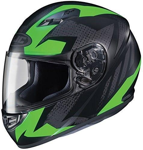 HJC Helmets CS-R3 Unisex-Adult Full Face Metallic Motorcycle Helmet Candy Red, XX-Large