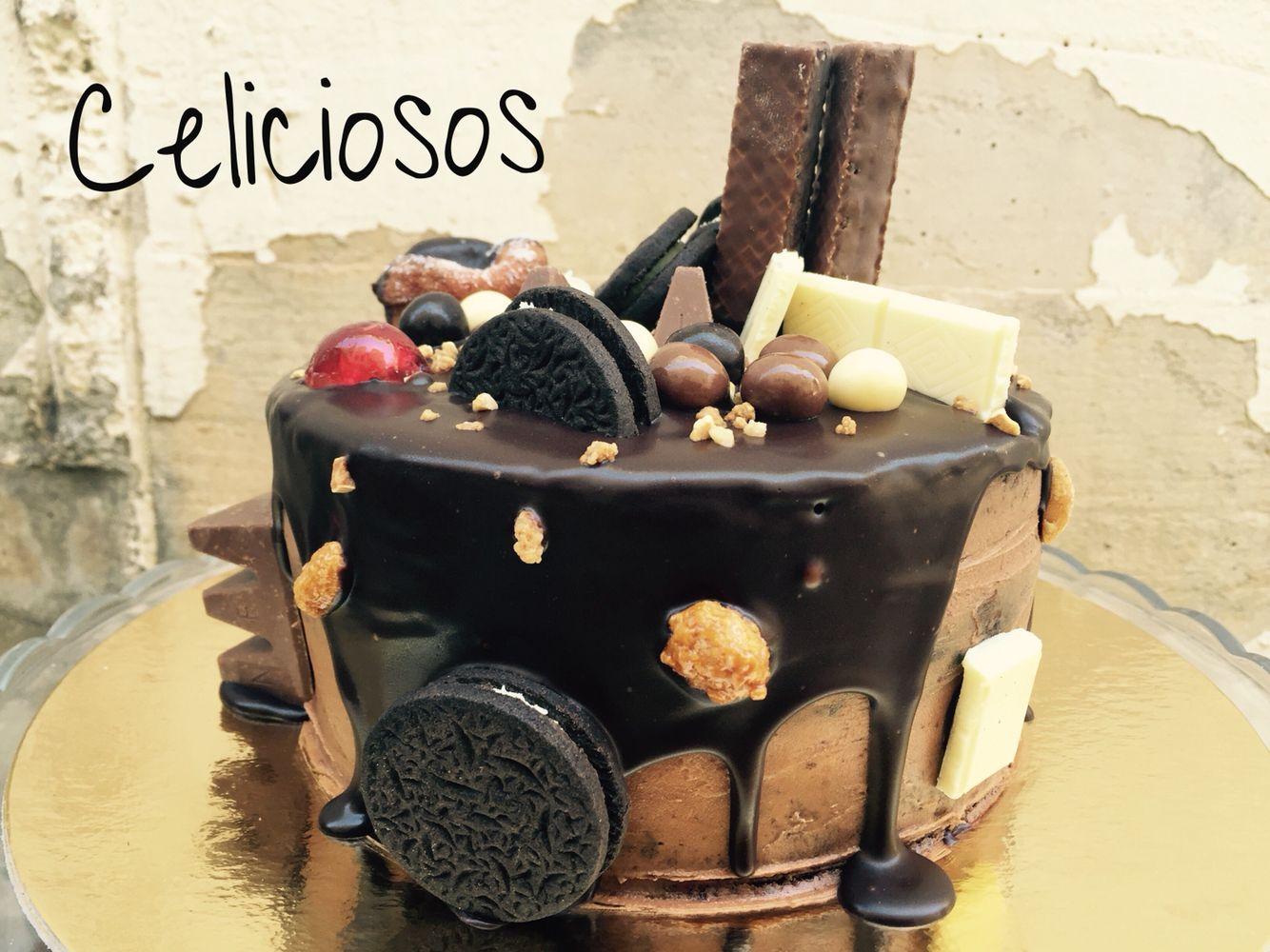 Tarta de Nutella SIN GLUTEN para disfrutar de un cumpleaños chocolatoso