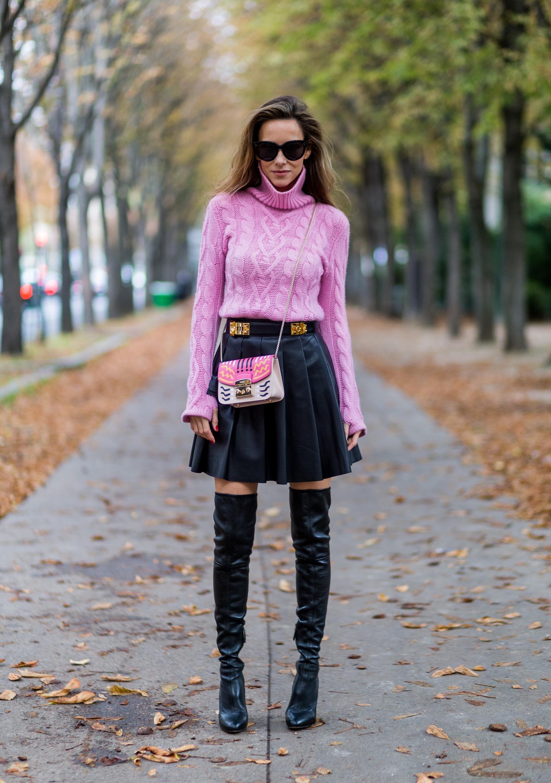 76d1d22a Alexandra Lapp Street Style at Paris Fashion Week Day Five | Fashion ...