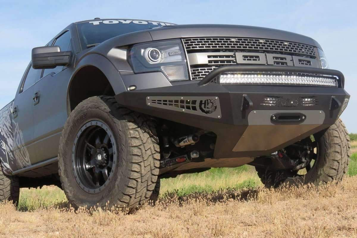 Add F017275050103 2010 2014 Ford F150 Raptor Honeybadger Front