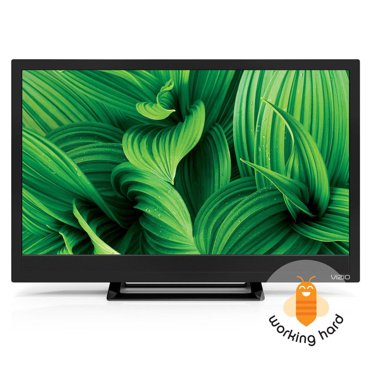 6c1842795 FLAT SCREEN TV HD LED 24 Vizio Class 720p HDMI Wall Mountable Black  Refurbished