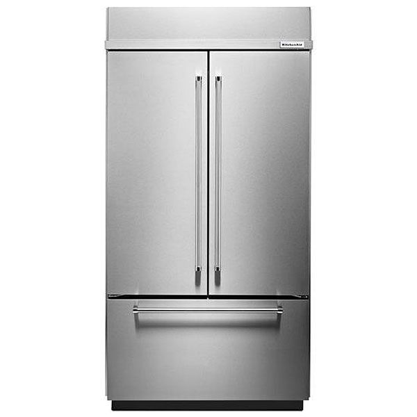 Kitchenaid 42 Quot Built In Stainless Steel French Door