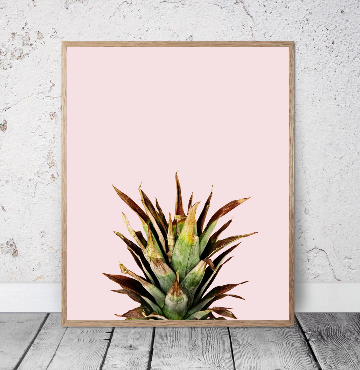 A personal favorite from my Etsy shop https://www.etsy.com/ca/listing/293044425/pineapple-pineapple-print-kitchen-wall