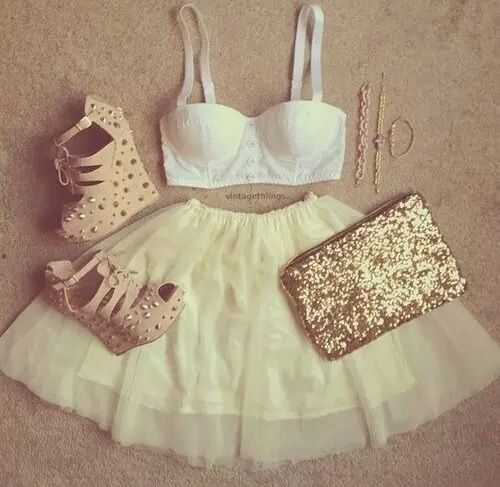 Outfit golden
