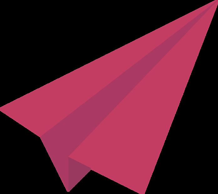 Red Paper Plane Paper Plane Red Paper Paper Glider