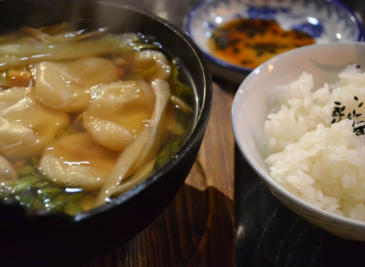 handmade wonton soup anyone // c travelage west c
