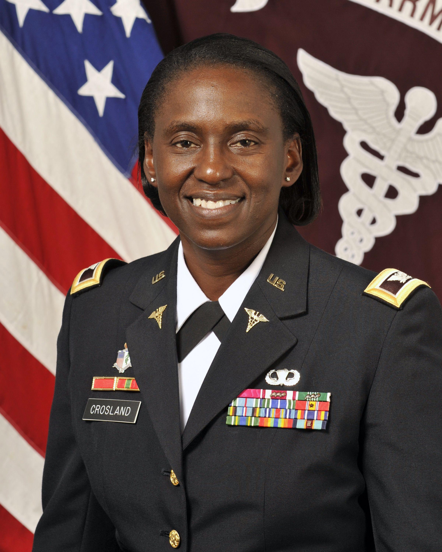 BG Telita Crosland, Commander, Regional Health Command