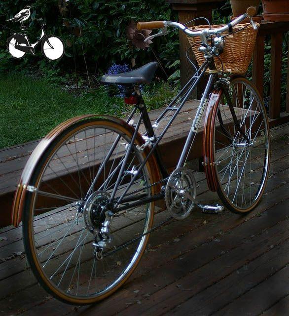 centurion mixte city bike by phil varner - Mixte Frame