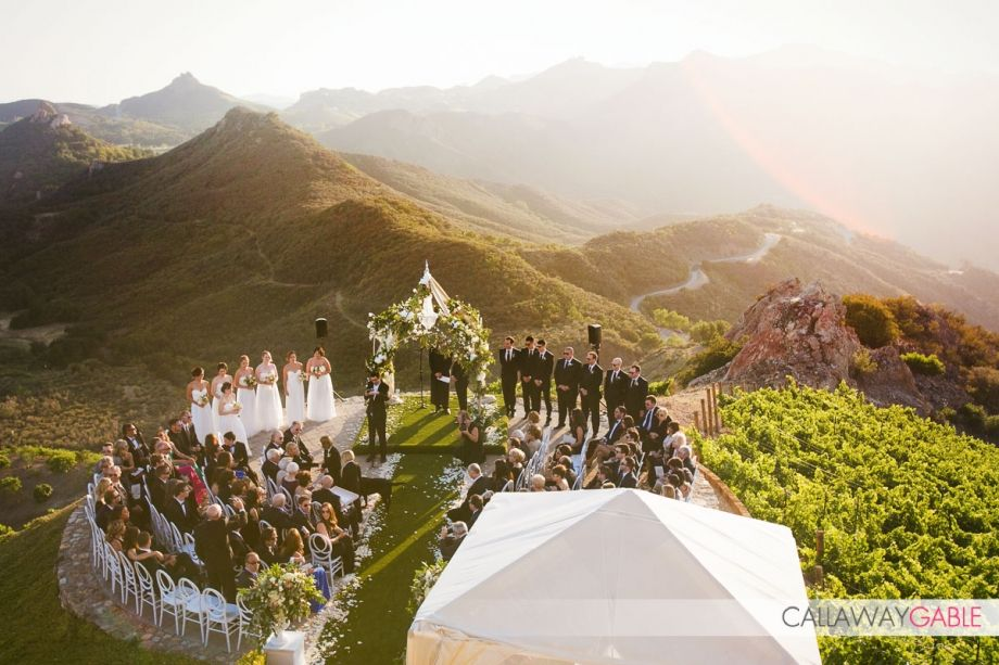 Destination Malibu Rocky Oaks Wedding Garrett Eric Real Weddings 100 Layer Cake Malibu Rocky Oaks Wedding Malibu Rocky Oaks Malibu Wedding