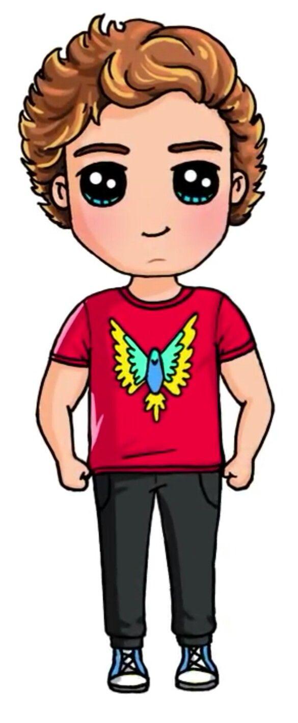 Logan paul draw so cute
