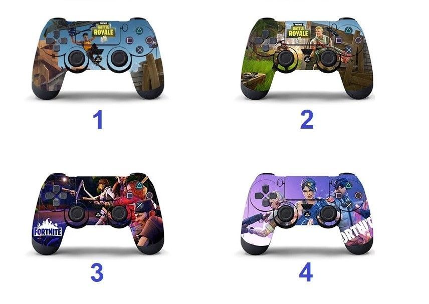 Battle Royale Fortnite PS4 Controller Skin Vinyl Sticker