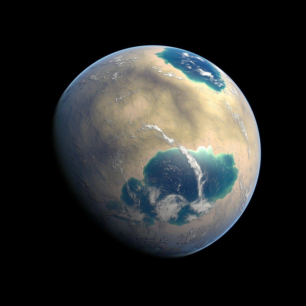 Barren World By Dckiqdeviantartcom On At Deviantart Space