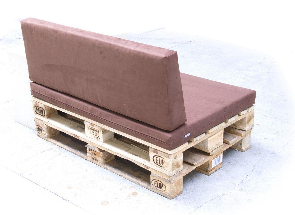 Industriale wohnzimmer bilder paletten polster kombi sitz lehne mit bezug paletten polster Paletten sofa polster