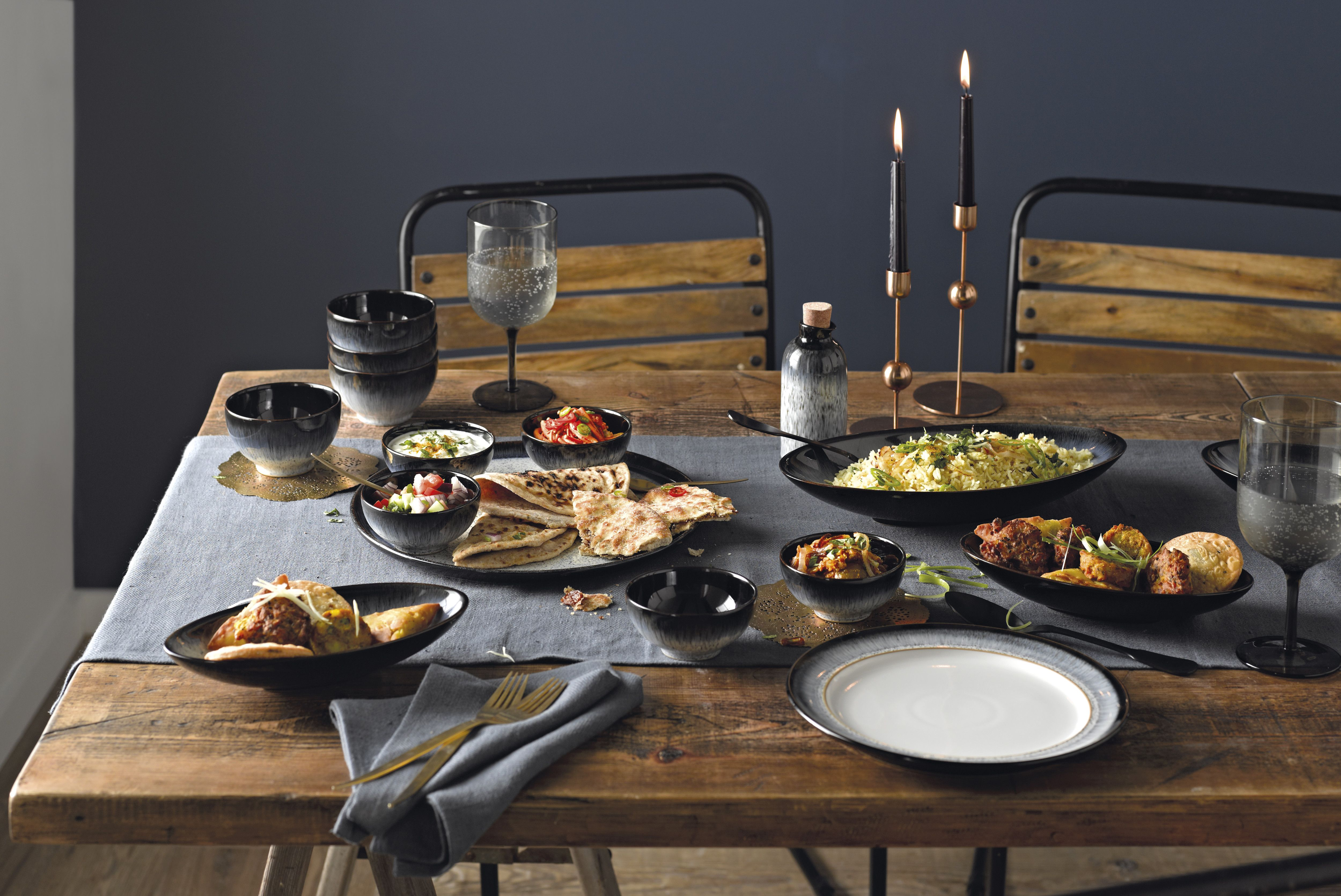 From Casual Gatherings To Formal Dinners Denby S Halo Is Perfect For Every Occasion Denby Pottery Tableware Formal Dinner