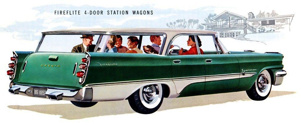 Desoto Wagon Station wagon, Wagons, Best classic cars