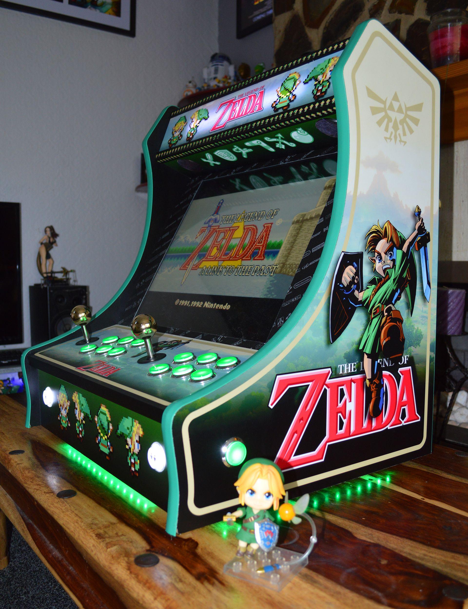 Custom Zelda Bartop Arcade Cabinet Arcade Console Arcade