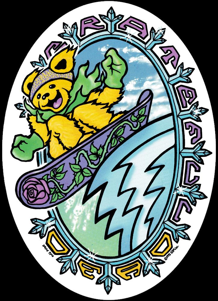 Pin By Stephanie Hurst On Rock And Role Model Grateful Dead Bears Grateful Dead Sticker Grateful Dead Image