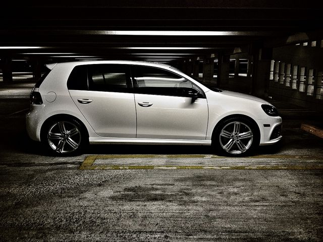 2012 Volkswagen Golf R 4 Door Candy White Loaded Cars