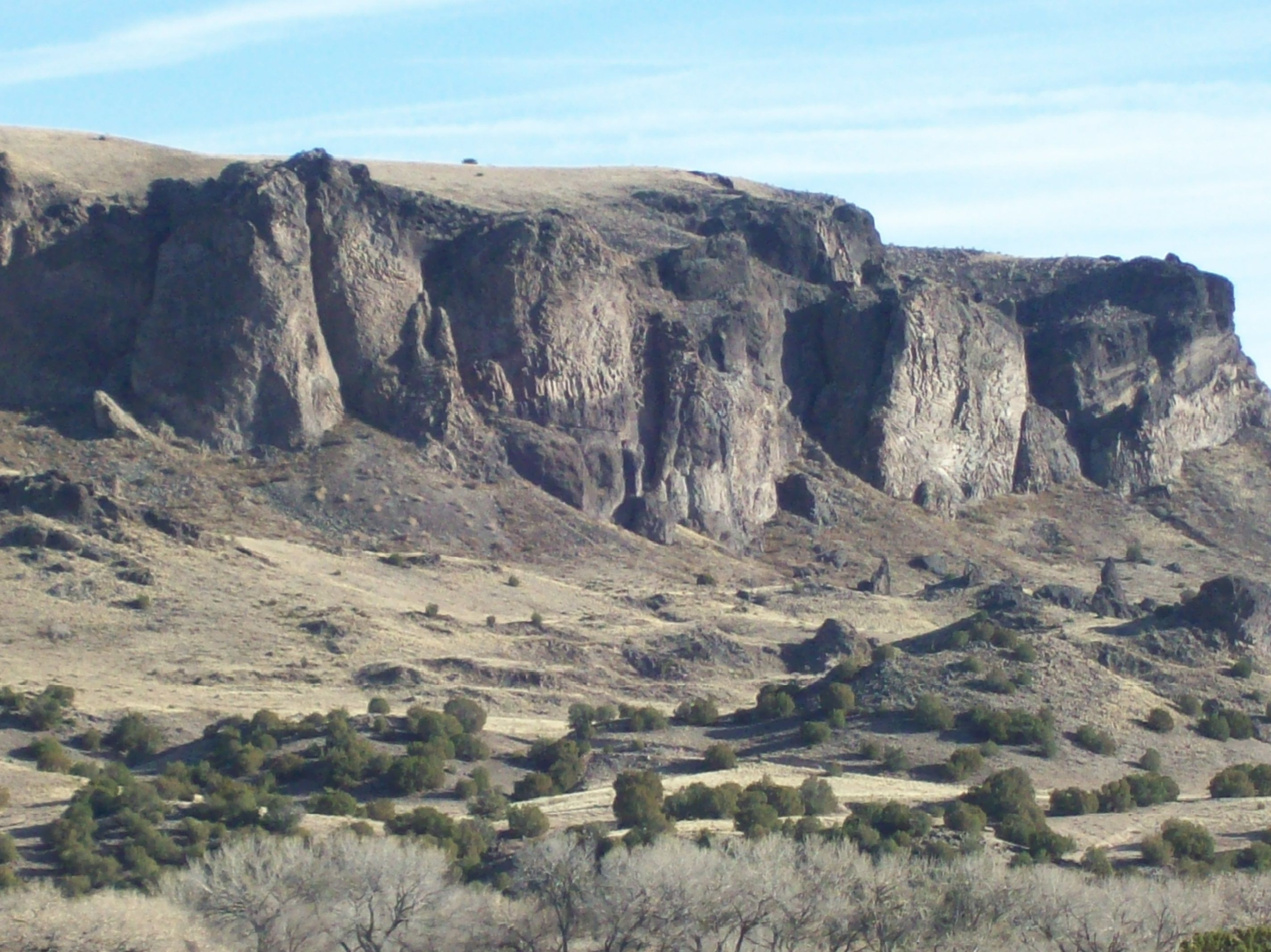 Black Mesa, on the way to Espanola, NM