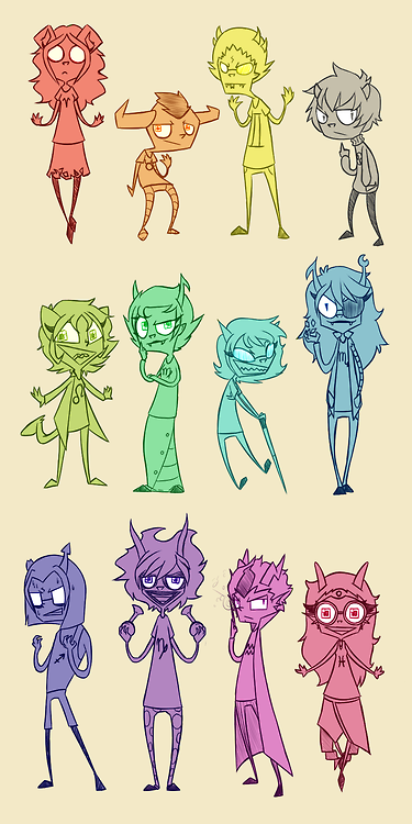 solar system homestuck trolls - photo #1