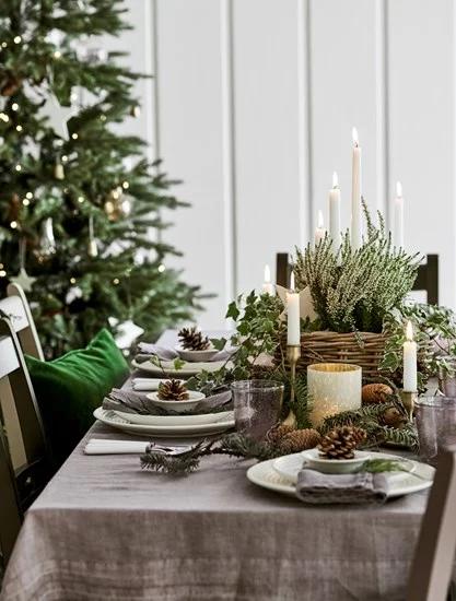 Garlands And Wreaths Christmas Neptune Christmas Table Decorations Christmas Decorations Rustic Christmas Greenery