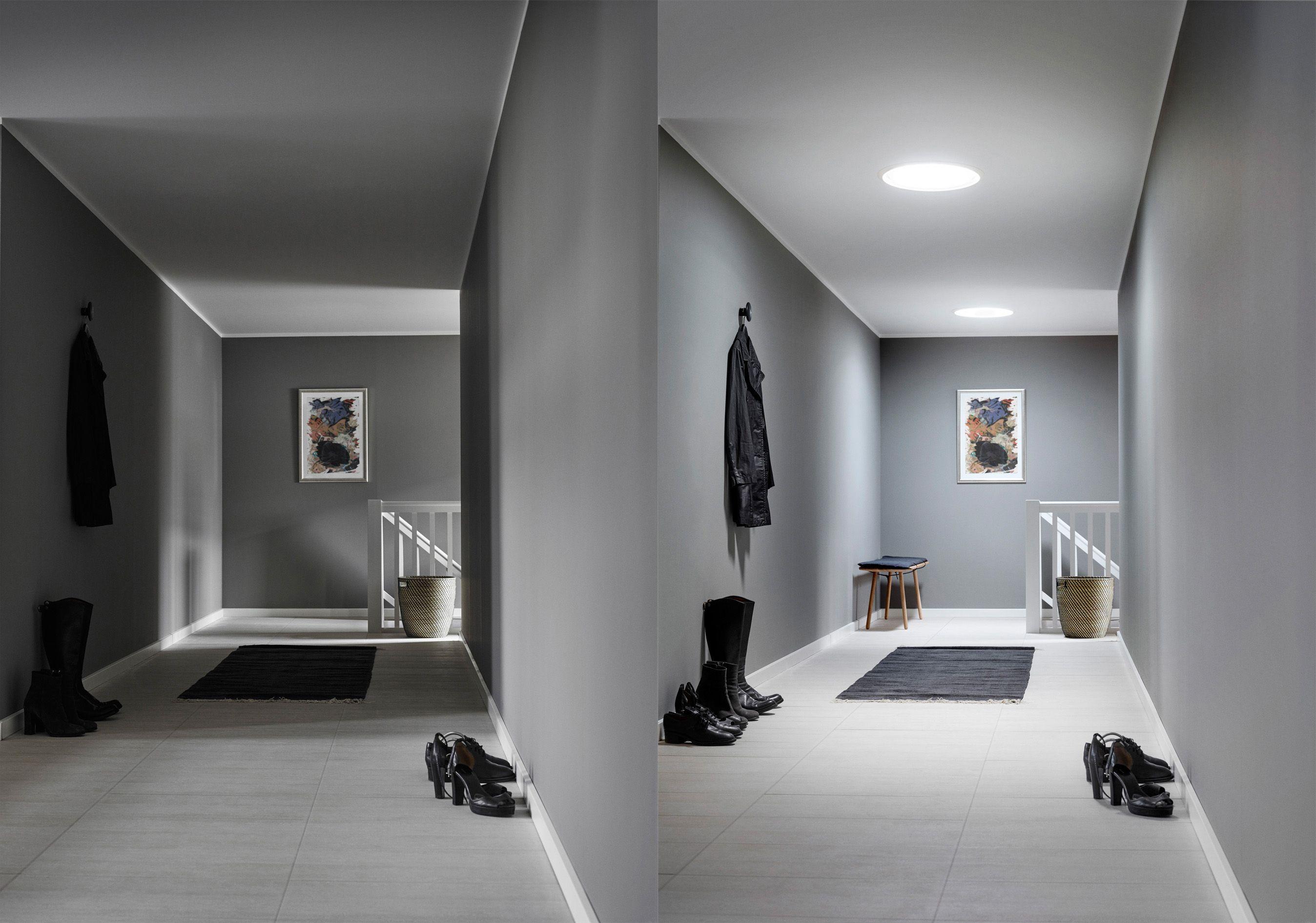 Belichtung aus der Röhre - Tageslicht-Spots ermöglichen Lichtzufuhr ...